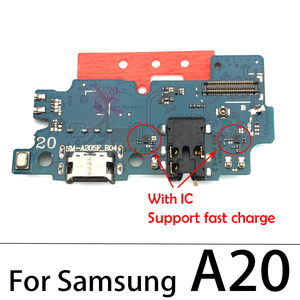 Image 5 - For Samsung Galaxy A10 A20 A30 A40 A50 A60 A70 A80 A202F A10s A20s A30s A50s A01 A11 USB Charging Connector Port Dock Flex Cable