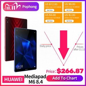 Image 1 - Original Huawei Mediapad M6 8,4 zoll tablet PC Kirin980 Octa core Android 9,0 6100mAh Huawei Gaming tablet pc Google spielen