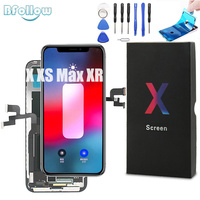 BFOLLOW Original Refurbished OLED for iPhone X XS / XS Max / XR LCD AAA Screen Digitizer Display Assembly Replacement