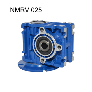 NMRV 025 Gearbox Reducer Ratio 7.5/10/15/20/30/40/50/60 56B14 High Quality Electric Motor Gearbox Use for Automatic Doors Motor
