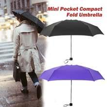 180g 6 кости небольшой Портативный складной зонт от дождя для