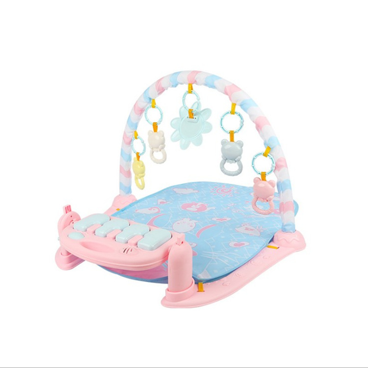 Cross Border Southeast Asia Harmonium Fitness Rack Baby Toys CHILDREN'S Music Game Blanket Baby 0-12 Month