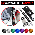 Для Toyota Hilux GUN125 126 Revo 2015-2020 аксессуары для пикапов из нержавеющей стали задние запорные газовые амортизирующие стойки амортизатор
