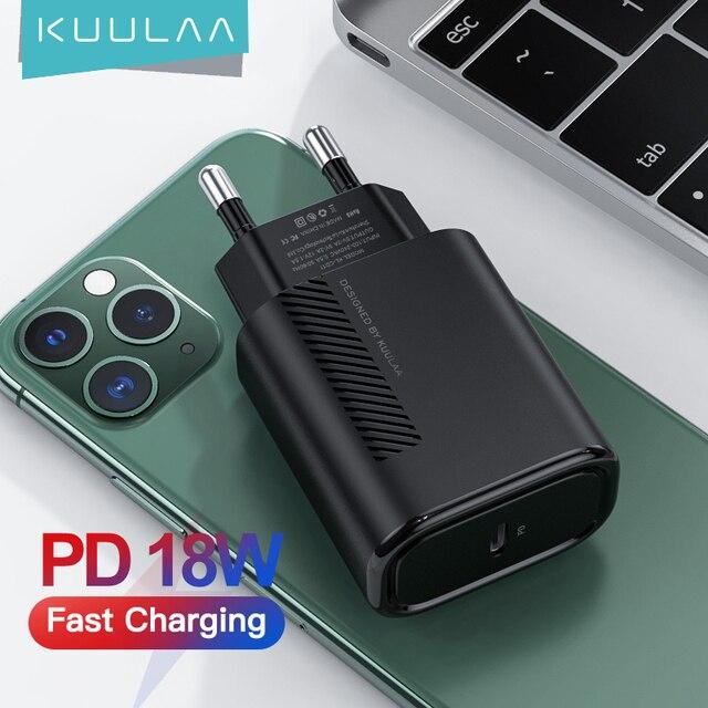 Зарядное устройство KUULAA PD 18 Вт PD 1