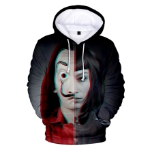 New Banknote House Season 1 la casa de papel Mens Hoodie Fashion Trend Casual La Sports