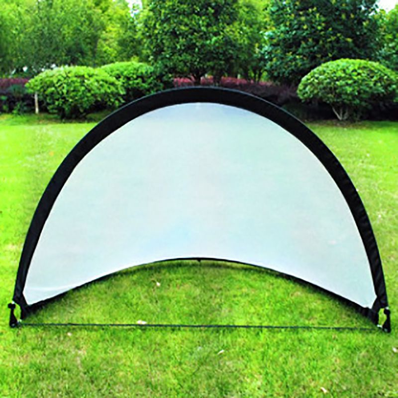 Outdoor Soccer Goal Net Football Game 210D Oxford Cloth Glass Fibre Rod Folding Training Door Tent Kids Sport Indoor Toy