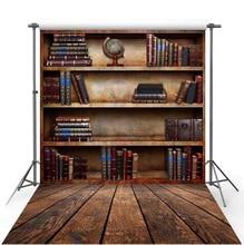 Graduation season Vintage Book Shelf book store Photography backdrops Studio Photo backgrounds for photo photographers