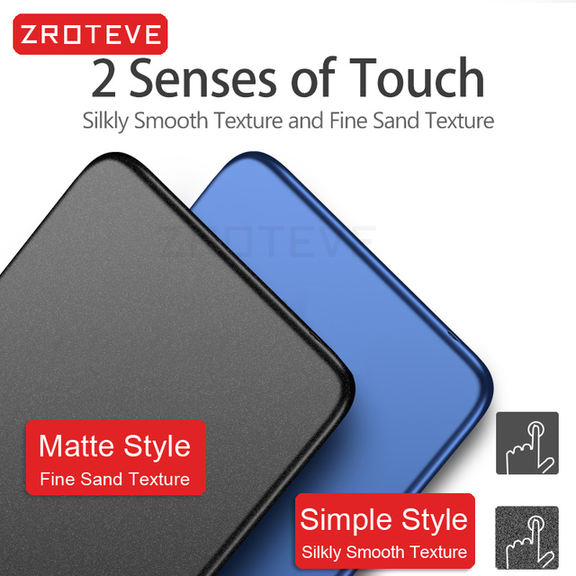 Meizu 18 Case ZROTEVE Frosted PC Coque For Meizu 18 Pro Case Slim Hard PC Back Cover For Meizu 17 18 Pro Shockproof Phone Case 3