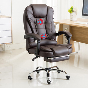 Image 5 - Computer Chair Household Office Chair Rotary Chair Boss Chair Modern Simple Backrest Comfortable Lazy Chair