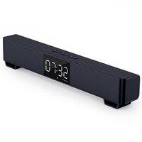 Mifa-Barra de sonido K3 con Bluetooth 5,0, altavoz estéreo inalámbrico con pantalla Digital grande, compatible con TWS