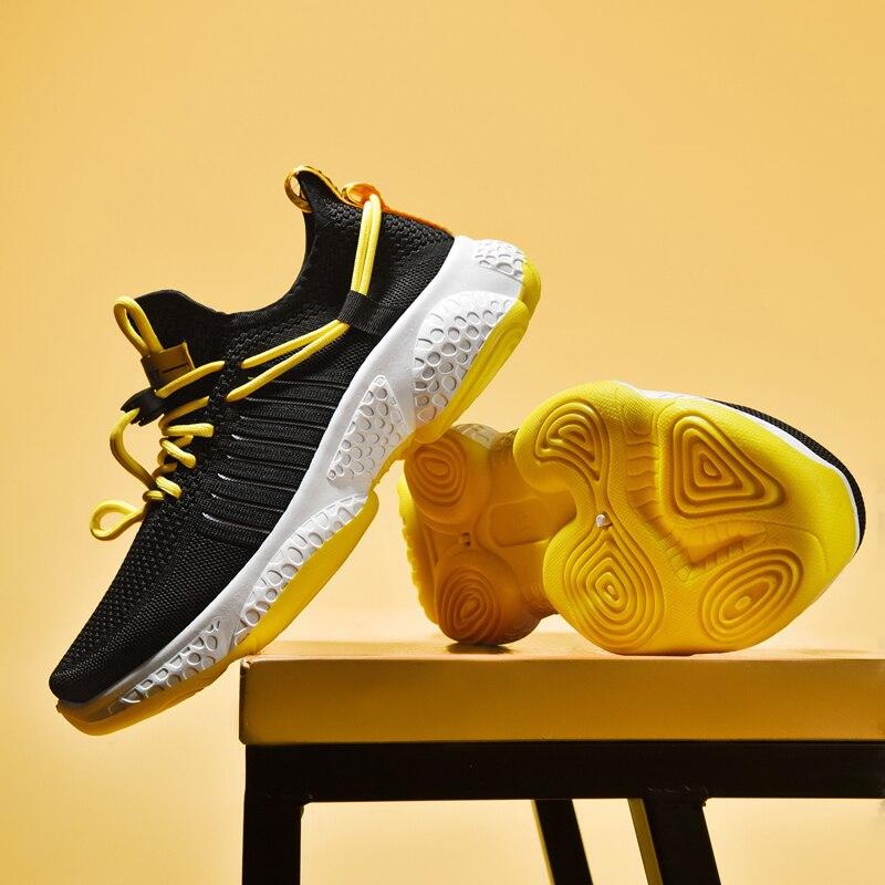 Men Shoes Sneakers  Breathable Men Casual Shoes Tennis Shoes Fitness Shoes Canvas Men No-slip Male Lace Up   Lace-Up 44