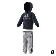 Children's Tracksuit Adidas I LOGO FZ HD FL Navy