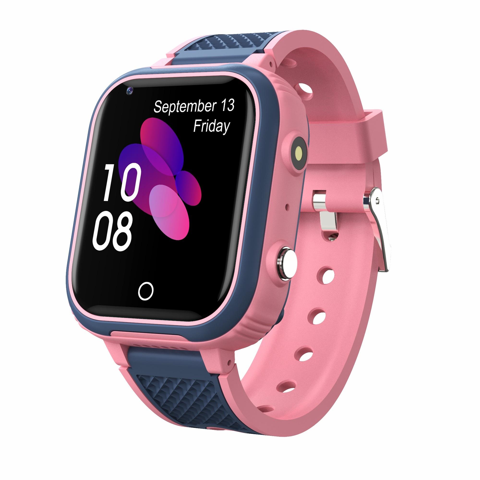 H62f2de287159413ba0f35e32b607a619M LT21 4G Smart Watch Kids GPS WIFI Video Call SOS IP67 Waterproof Child Smartwatch Camera Monitor Tracker Location Phone Watch