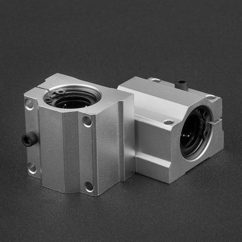 Metal Linear Ball Bearing Pillow Block Unit For CNC SC25UU 4PCS SCS25UU 25mm