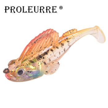 1Pcs Jig Wobblers Anti-hanging Hooks Lead Fishing Lures 90mm 21.7g Artificial Rubber Silicone Bait Sea Bass soft Fishing Lure цена 2017