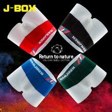 J-BOX 1PC Men Soft Underwear Fashion homme Sexy Boxers Contrast Color Gay underpants Cueca Cotton Boxer Shorts for Big erotic