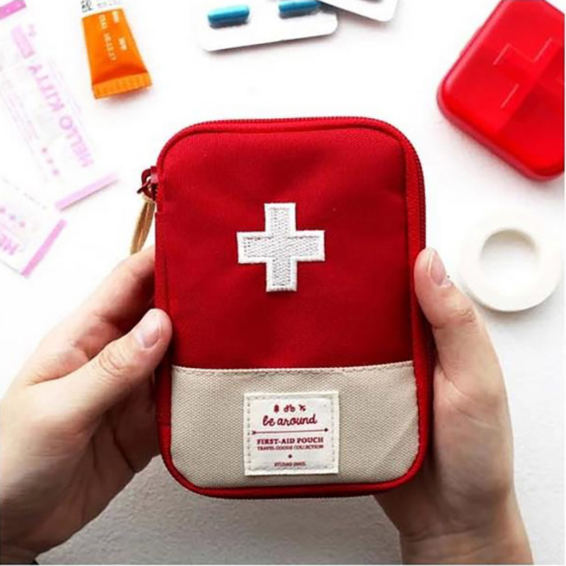 Multi-Function Medical Pouch Storage Bag First Aid Kit Portable Medical Kit Travel Emergency Medicine Storage Pack G132