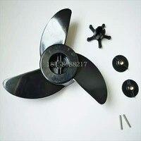 Haibo Elektrische Propeller ET44L ET54L Leopard D54 Außenbordmotor Propeller Original Zubehör