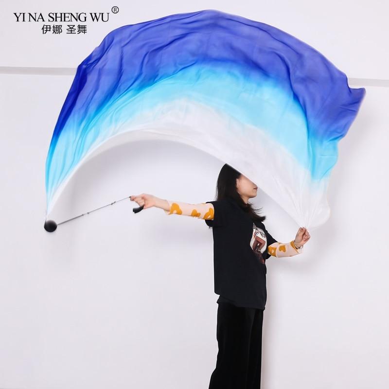 Belly Dance Silk Veil POI Chain Ball Women Belly Dance Accessories Multicolor Dance Silk Veil Throw Ball Professional Customized