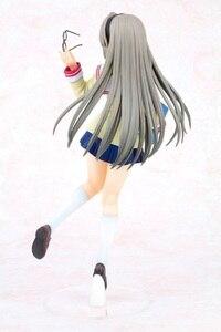 Image 2 - Clannad Sakagami Tomoyo figurine merveilleuse vie japon Anime Sexy fille école uniforme Ver PVC 25cm modèle Collection cadeau jouet