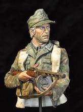 Kit sem pintura 1/10 steiner guerreiro antigo busto resina figura kit garagem em miniatura