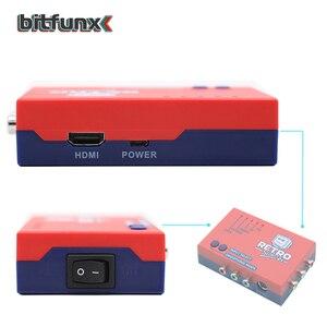 Image 3 - Bitfunx RetroScaler2x A/V כדי HDMI ממיר וקו מכפיל עבור רטרו משחק קונסולות PS2/N64/NES/SEGA Dreamcast/שבתאי/MD1/MD2