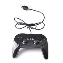 Classic Wired Game Controller Remote Pro Gamepad Shock Joystick For Nintendo Wii Second-generation