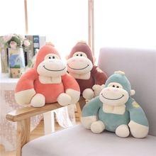 Новая плюшевая игрушка мягкий пух хлопок Кинг Конг Горилла обезьяна