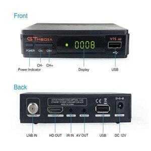 Image 4 - מקורי GT מדיה V7S HD HD מקלט לווין DVB S2 V7S מלא HD USB 2.0 DC 12V / 1.2A גבוהה איכות + משלוח אירופה 7 קליין cccam