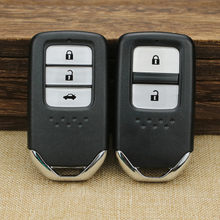 Neue Ersatz Shell Smart Remote Key Case Fob 2/3 Taste für Honda Accord XRV CRV FIT Smart Remote karte shell(China)