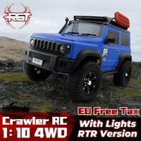 RGT 1/10 4WD Crawler Climbing Buggy fuoristrada RC telecomando modello di auto 136100V3 per bambini giocattoli per adulti regali