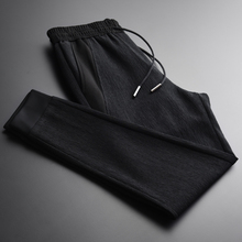Autumn Luxury Add Velvet Fabric Casual Sport Mens Trousers P