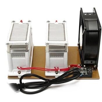 220V 20G Ceramic Ozone Generator Ozone Double Integrated Ceramic Plate Ozonizer Air Water Air Purifier EU Plug