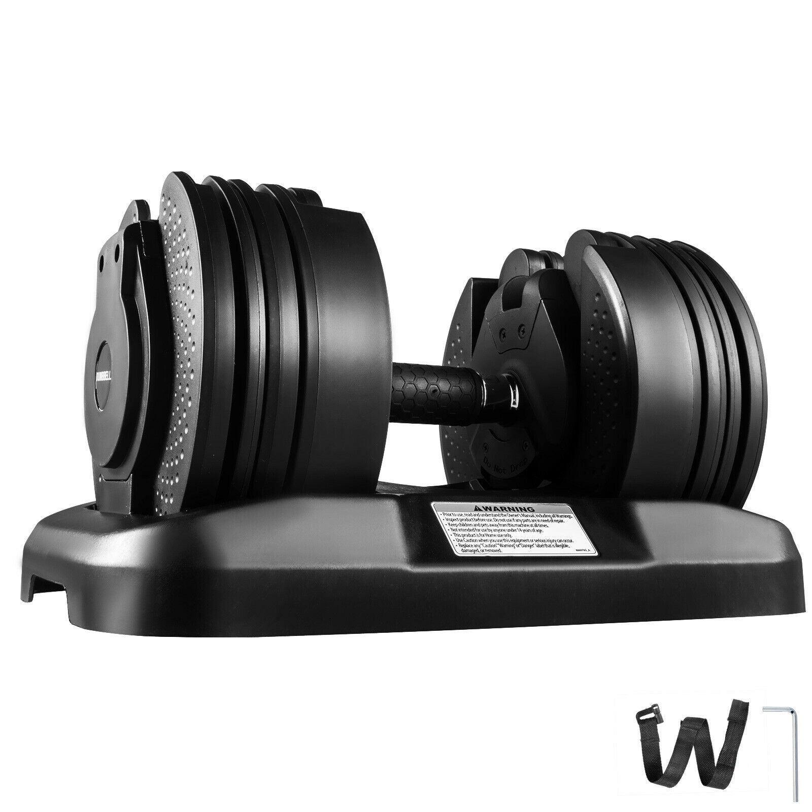Dumbbells Adjustable Syncs Training Gym Home Indoor Muscle Workout Kit Gym 45lbs 1 Piece