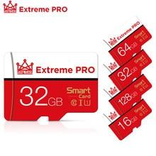 Cartão de alta velocidade 8 16 32 64 128 gb do microsd da memória do flash da classe 10 do cartão 16 32 64 128 gb do micro sd tf para o adaptador do smartphone