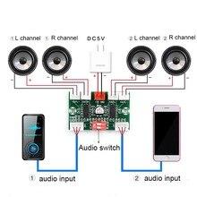 4*3 واط PAM8403 4 قنوات صغيرة مضخم الصوت الرقمي لتقوم بها بنفسك وحدة USB 5 فولت ستيريو صغير أمبير مكبر للصوت المجلس