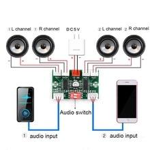 4*3W PAM8403 4 Channels Mini Digital Audio Amplifier DIY Module USB 5V Small Stereo Amp Amplifier Board