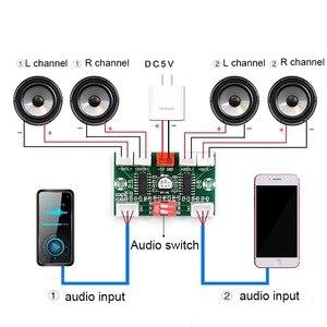 Image 1 - 4*3W PAM8403 4 Channels Mini Digital Audio Amplifier DIY Module USB 5V Small Stereo Amp Amplifier Board