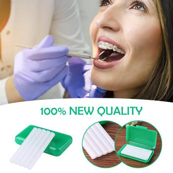 5pcs Scent Dental Orthodontics Wax Teeth Oral Gum Ortho Irritation Brace Bracket 100% Brand New Carry Around Convenient image