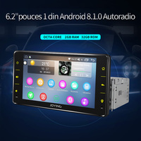 Universal 1 din android 8.1 car autoradio multimedia player octa core car head unit single din car stereo full touch screen WiFi