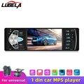 Автомобильный Мультимедийный MP3-плеер 4,1 дюйма с Bluetooth, FM-радио, 1 din, USB, TF, поддержкой камеры заднего вида