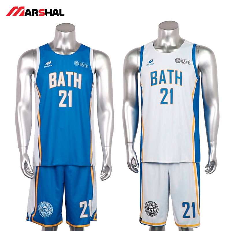 Men College Basketball <font><b>Jerseys</b></font> <font><b>USA</b></font> Throwback Reversible Basketball <font><b>Jersey</b></font> Custom Name + Number Youth Cheap Basketball Uniforms image