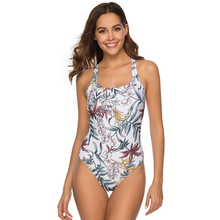 swimwear 2019 women's swimsuit Conservative swimsuits Retro Floral One-Piece Suit Swimming Beach Bathing Suit Lady one piece swimsuits floral printing bathing suit women swimming suit high waist swimsuit sexy conservative girls swimwear skirt
