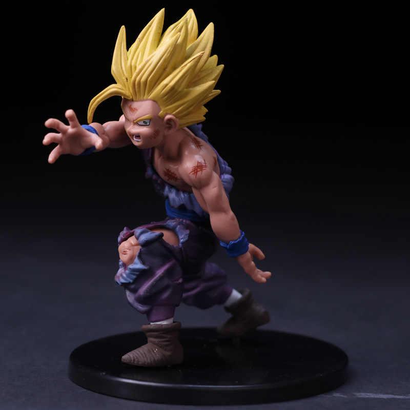 Dragon Ball Z Gohan Gewonde Een Hand Battle Ver. PVC Action Figure DBZ Goku Gohan Eerst Vechten Collectible Model 12cm