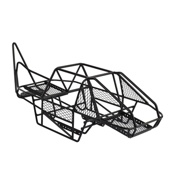 Steel Roll Cage Frame Body Black Chassis for Axial SCX10 90027 90022 1 / 10 RC Rock Car Crawler Climbing Truck Parts