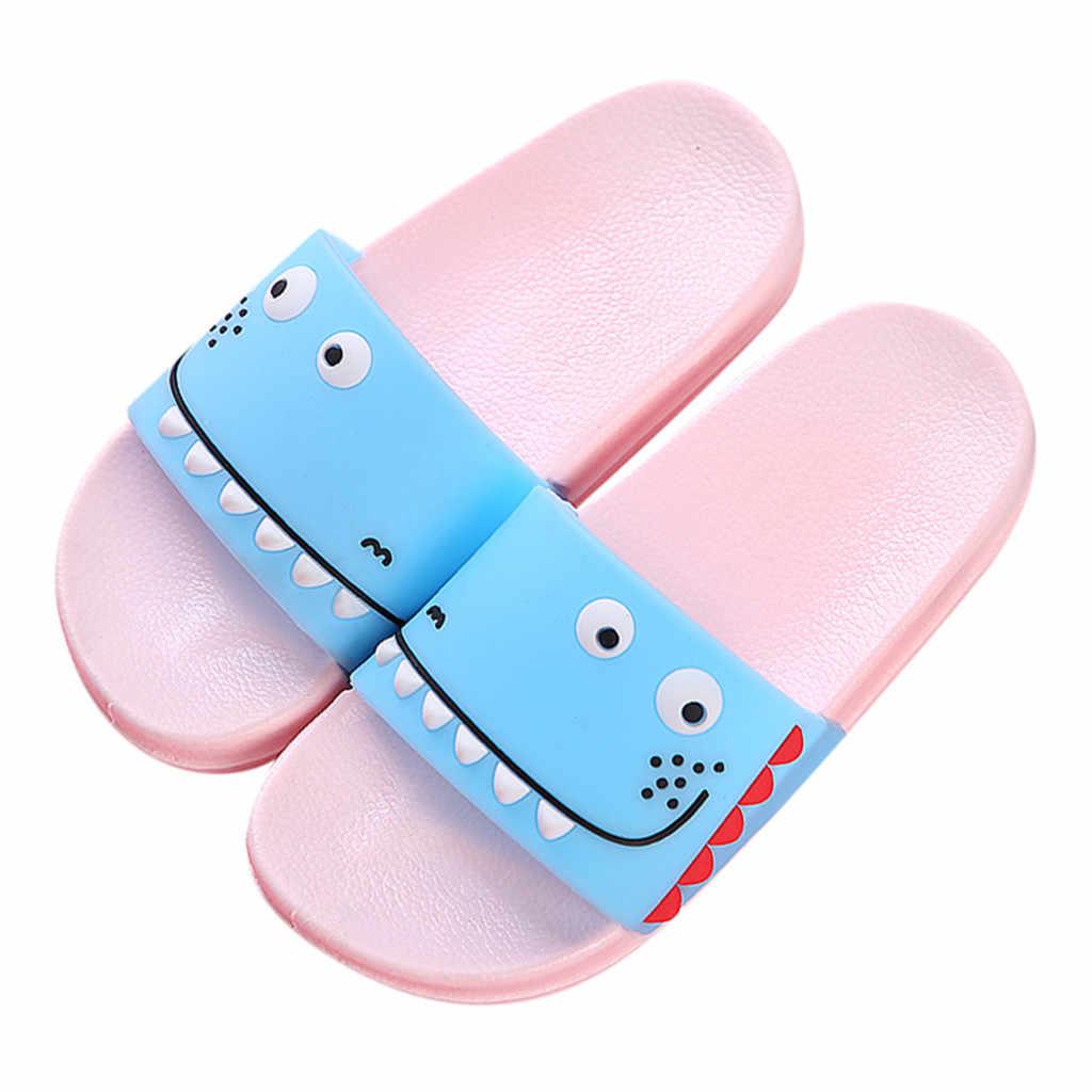 Cartoon crocodile Animal Fruit Women Home Slippers Summer Sandals Ladies Slides Indoor House Shoes Flip Flops Sandalias Mujer