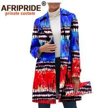 Африканская одежда для женщин пальто и сумки длинная куртка