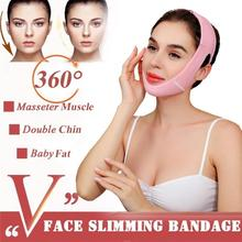 Face Slimming Strap Reduce Double Chin Lift V Face Mask Face lift Stickers Bandage Mask For Face Oval Anti Cellulite Strap Belt