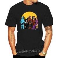 Camiseta negra divertida de superhéroes, Camiseta deportiva de S-3Xl para gimnasio, el rey del reloj, madeja Hill, Watchmen, novedad