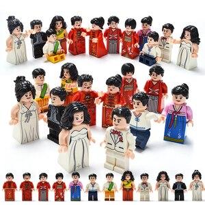 Image 5 - 100 adet/grup eylem rakamlar blokları eğitim inşaat yapı tuğla oyuncaklar Set çocuk oyuncakları hediye için